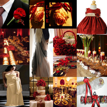 Wedding Colors Red Inspiration 03