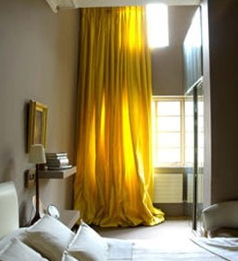 yellow curtains for the bedroom what to paint the walls