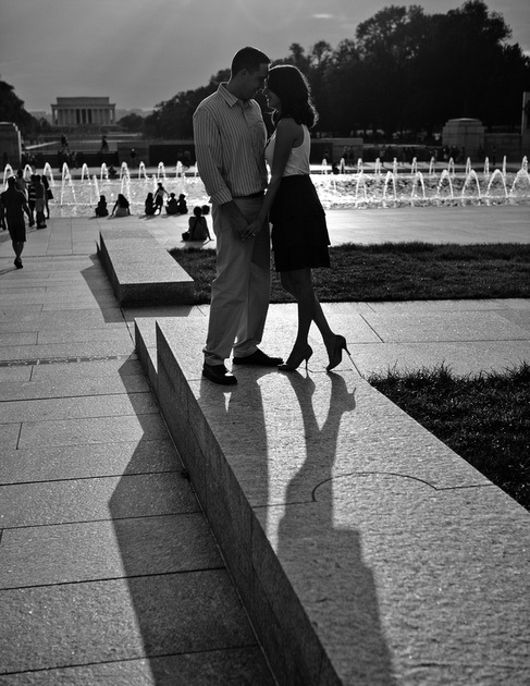 Nati-Lyte's Engagement Pics In DC