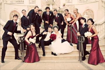 May I see your creative wedding party photos? - Weddingbee