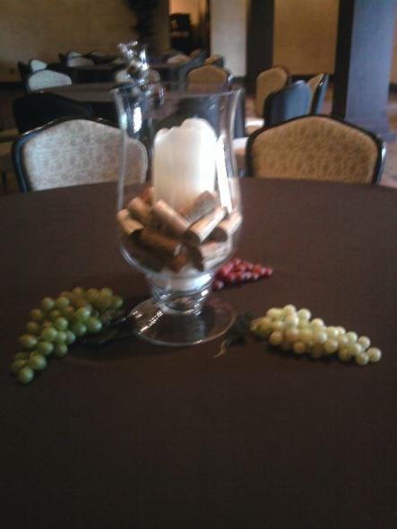 What to put around these centerpieces wedding Centerpiece