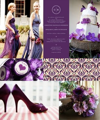Wanted purple cream wedding looking for linens decor items centerpiece