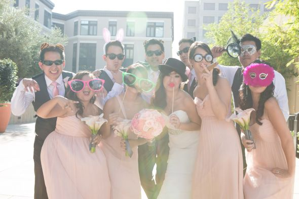 Bridal Party Having Fun!