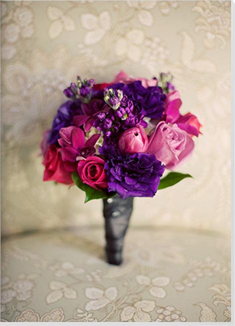 Inspiration for Purple bouquets wedding Bouquet