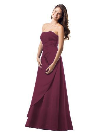 David's Bridal F11165, Size 10, in Wine, $85 :  wedding bridesmaid dress davids f11165 wine S08 F11165 2 Psd