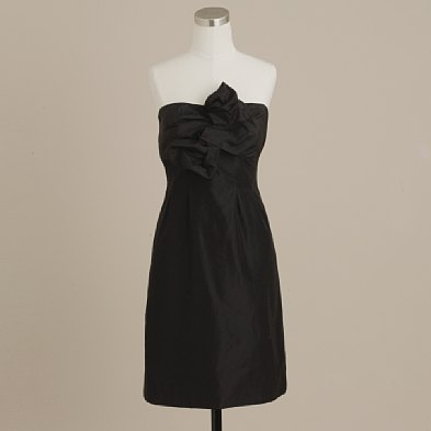 J. Crew Black Silk taffeta bow monde  Dresses :  wedding jcrew 1 bow monde black silk Erez11
