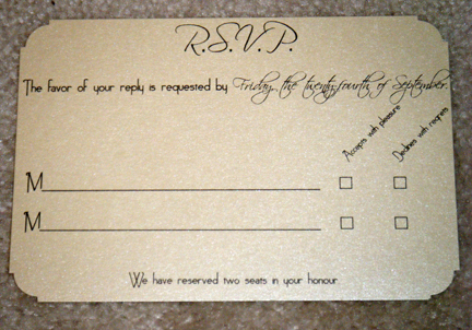 Nataliyas blog It 39s traditional at a Chinese wedding to – Diy Wedding Rsvp Cards