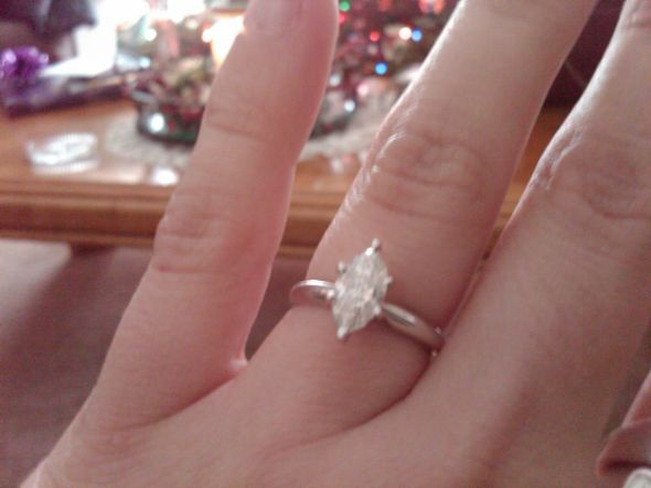Third Rings the Charm! :  wedding ring engagement First Ring