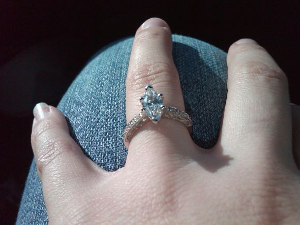 Third Rings the Charm! :  wedding ring engagement Third Ring