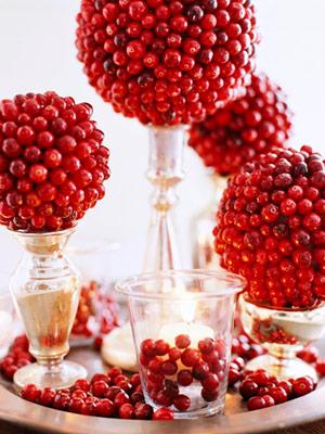 Cranberry Season wedding cranberry centerpiece red Ss 100655335