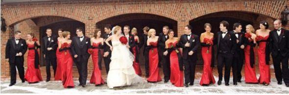 Old Hollywood Themed Wedding - Wedding Photography