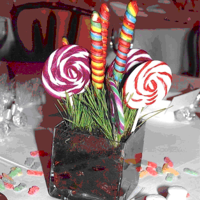 Kids Table Centerpieces help wedding kids centerpieces Lolli Centerpiece