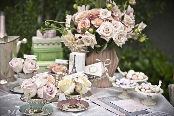 Wedding Table Arrangements Ideas