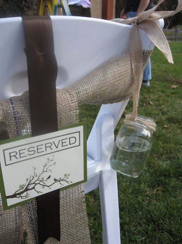 275 Burlap Chair Sashes wedding Copy Of Tiffanys Wedding 040