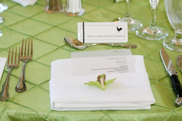 FS Pintuck Linens wedding linen pintuck table green white diy reception