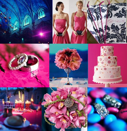 wedding ideas for reception Pinkblue 1