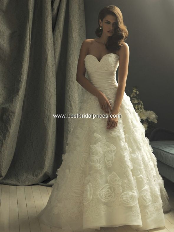 Allure brides! Show off your dresses! :) :  wedding Allure C157