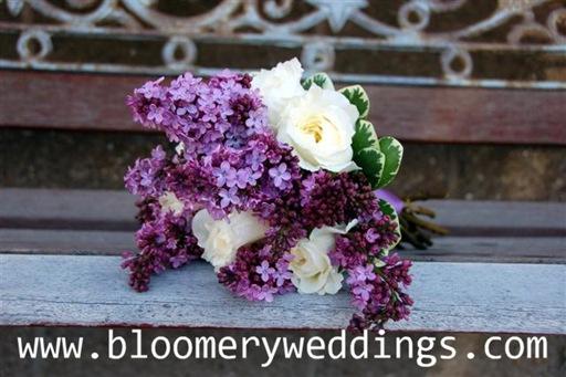 Show Off Your Bouquet Inspiration wedding Lilac Bouquet2