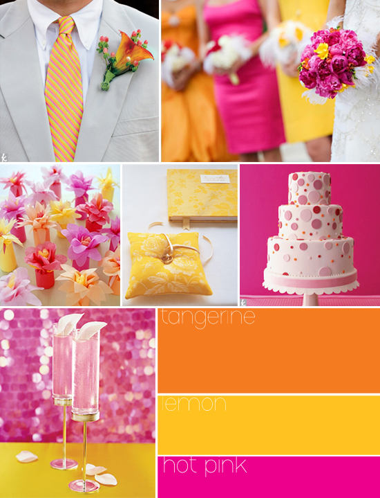 Amazing Pink and Orange Wedding Colors 550 x 719 · 301 kB · jpeg