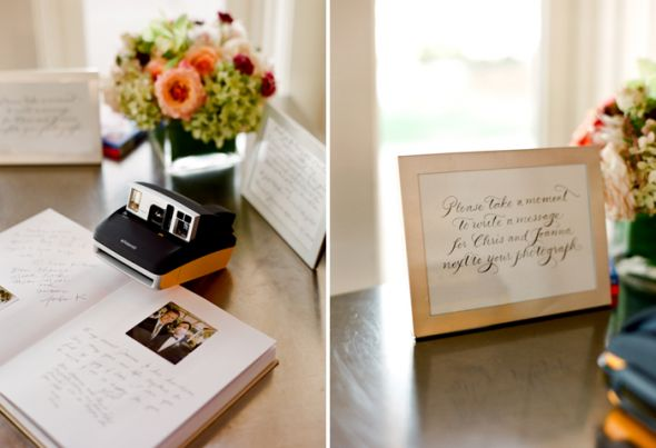 At this point I 39m thinking to have the regular guest book