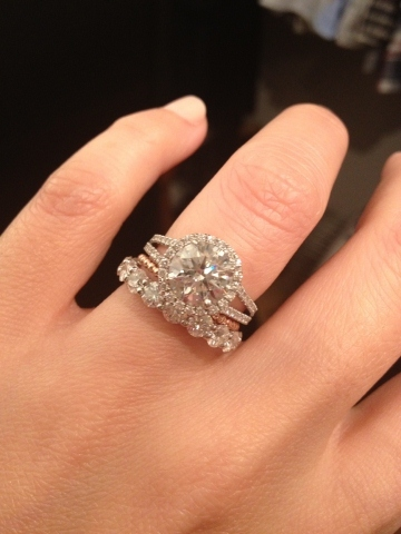 Original Wedding Ring And Engagement Further Cool Design