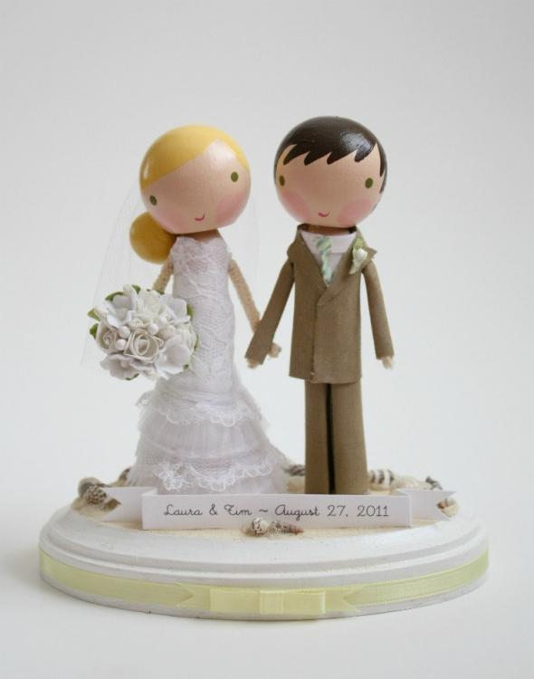 Comical Cake Toppers For Wedding Cakes