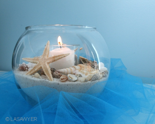 Beach theme centerpiece ideas weddingbee