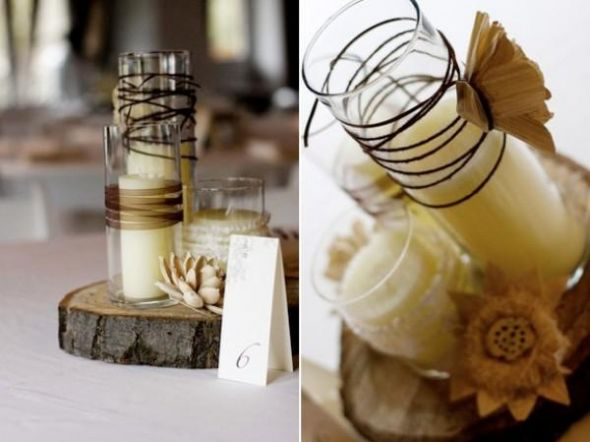 wedding Rustic Wedding Centerpieces ETA just saw this ad on craigslist for