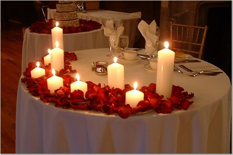 Non traditional sweetheart table decor :  wedding Sweetheart2