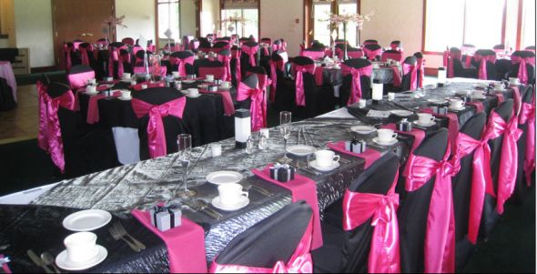 White Fuschia Silver Wedding Decoration Pictures Picturesboss