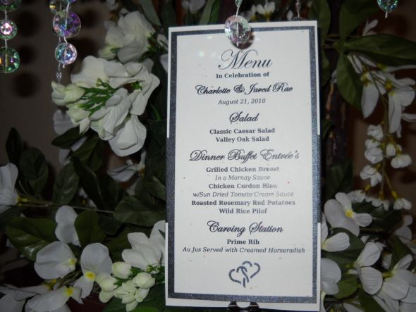 Menu Seating sashes Table Numbers wedding Chair Sashes 006 1