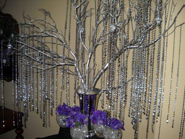 Silver Wishing Tree