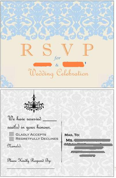 creative RSVP cards wedding response cards rsvp Rsvp 1 year ago