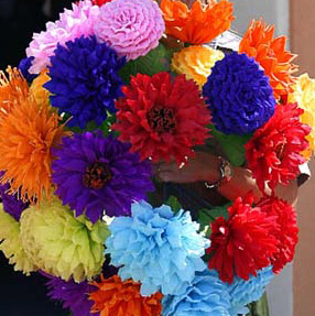 Zechariahcurtiss blog weblogs crepe paper flowers mexicanvideo how to make mexican paper flowers ehow mightylinksfo
