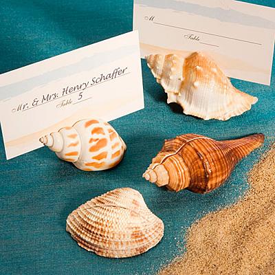 Beach wedding place card ideas??
