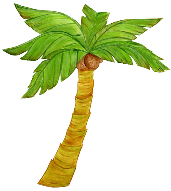 palm tree template