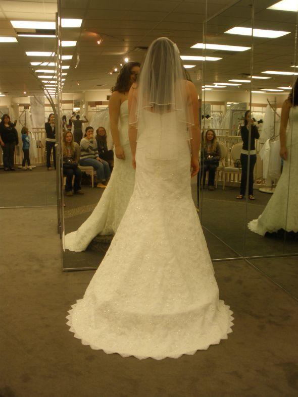 I Love Wedding Dresses And Mine Is The Oleg Cassini CRl277