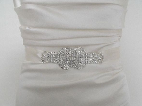 TWO DAY SALE on TWO Bridal Sashes March 18 and March 19th wedding sash