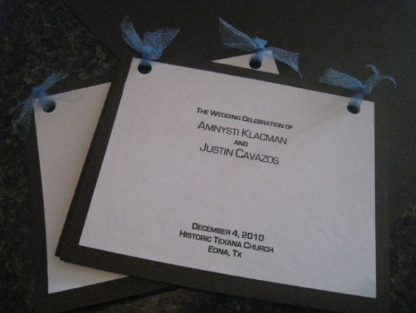 Soon to be Mrs Cavazos Programs wedding programs paper diy Program