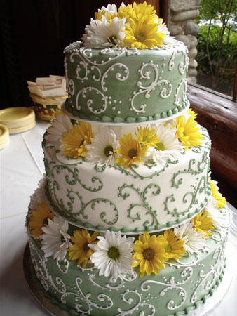 Need Help Choosing a Color Scheme to compliment Sunflowers wedding