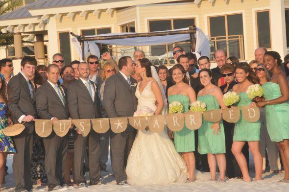 Wedding By The Seashore Recap 6 Cocktail Hour