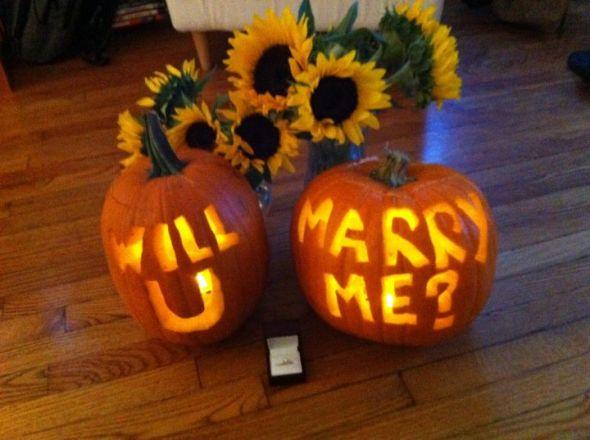 A Pumpkin Proposal