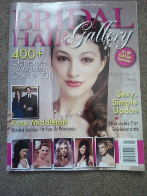 bridal hairstyle magazine