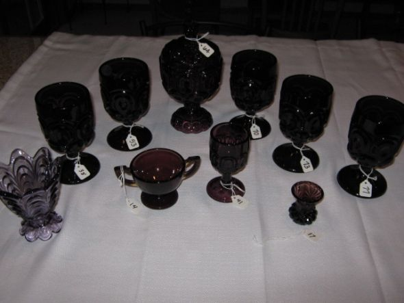 Mismatch Vintage Wedding Decor FOR SALE Purple Cream Gray wedding vintage