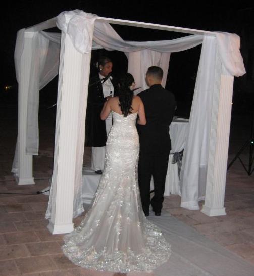 Wedding Chuppahs For Sale: Sativa's Blog: My Niece 39s Wedding Reception Centerpieces