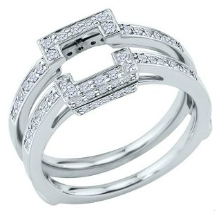cut solitaire s with ring wraps or enhancers out there weddingbee