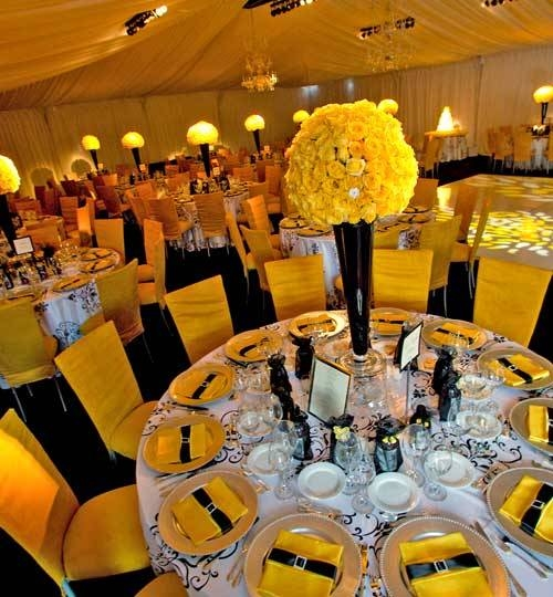 Best Wedding Ideas: Ideas For Yellow Wedding Centerpieces