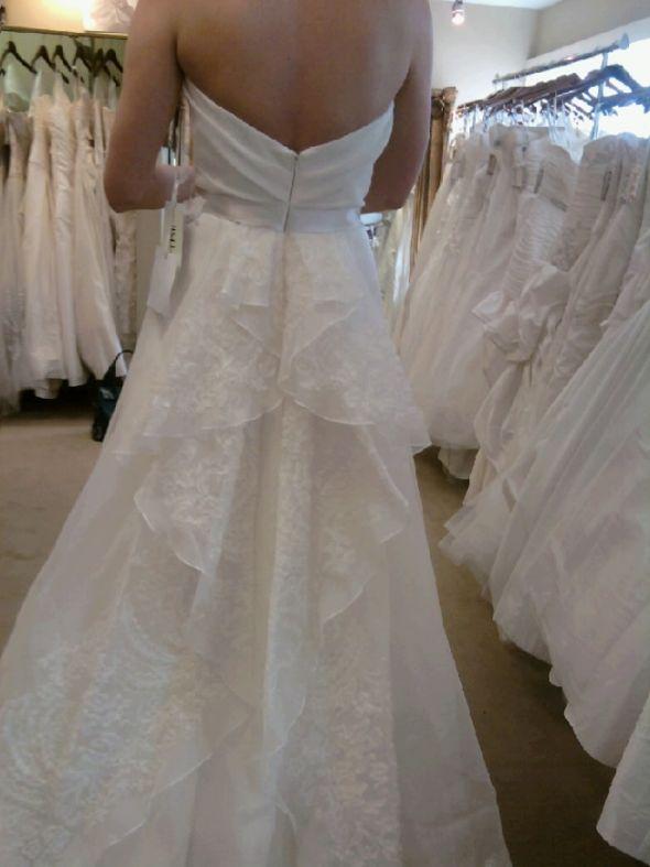 I 39m selling my Jim Hjelm 8002 bridal size 12 street size 10