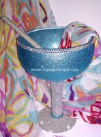 Custom Centerpiece Bling Cup