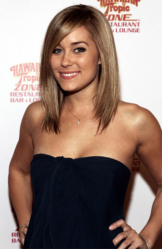 lauren conrad short hair back view